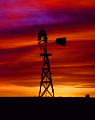 Sunset in the Texas Panhandle (twm1340) Tags: sunset windmill texas explore panhandle blueribbonwinner theperfectphotographer