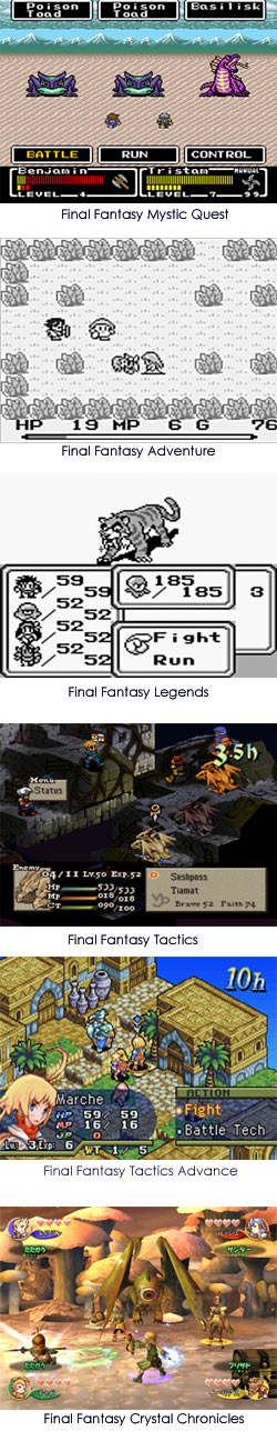 Final Fantasy Spinoffs