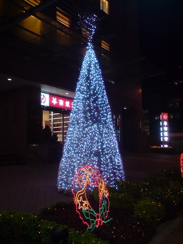 Christmas tree in Taipei