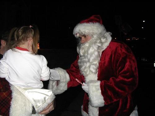 Ridgefield Santa