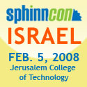 Sphinncon Israel Banner