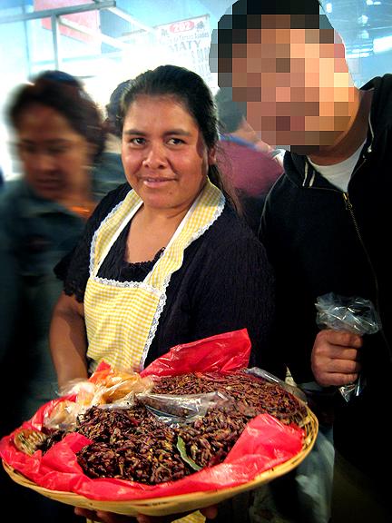 Chapulines Lady