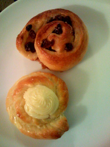 finished pastries