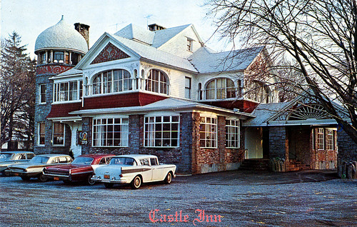 Castle Inn by Islip Public Library. Presently The Gatsby Restaurant on south side of Main Street. Anyone can see this photo All rights reserved