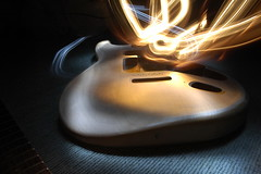 soul of the guitar (Floyd!!) Tags: light nikon artistic guitar body d70s taken torch fender strat stratocaster squier as