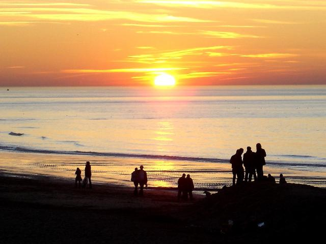 Sunset compressed
