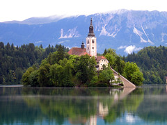 Bled, Slovenia (Manuele Zunelli) Tags: travel europe slovenia bled lakebled blejskiotok churchoftheassumption
