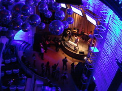 View from way up at Spotlight Live NYC