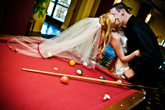 HOT HOT HOT (lishagisha) Tags: wedding arizona bride veil pooltable applered decou