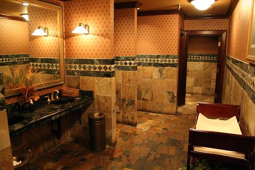 5214 The posh restaurant's bathroom - a photo on Flickriver Upscale Restauant Bathroom Designs on