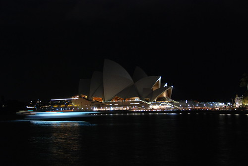 Opera House switched off