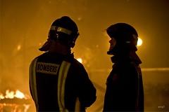 (Noel Arraiz) Tags: valencia fire fireman fuego crema bomberos marzo bombers tradicion fallas falles najordana
