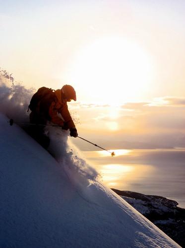 Ski illustrasjon