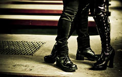 Boots (insatiable73) Tags: old black dark cool boots evil heels vicious insatiable73