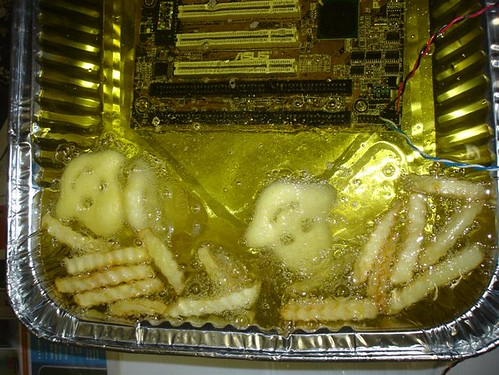 Hot MotherBoard as cooker