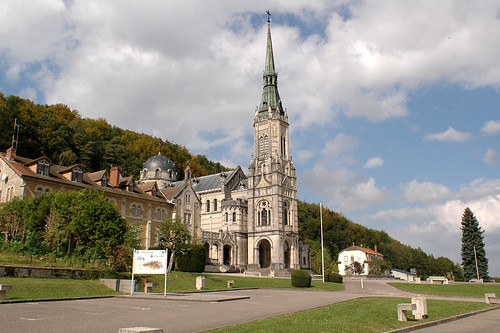 Basilica of Domrémy-la-Pucelle.