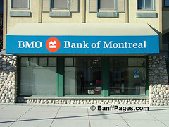 BMO Bank of Montreal Banff