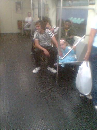 Fadinha no metrô