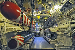 The Back End Of The Forward Torpedo Room (Pixel-Pusher) Tags: ships submarine tokina scorpion transportation soviet torpedo russian claustrophobic foxtrot aft claustrophobia torpedoroom b427 dieselelectric podvodnayalodka project641
