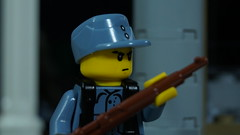 Lego WWII Chinese KMT Soldier (Force Movies Productions) Tags: lego minfig brickmania brickarms war wwii kmt chinese soldier chaing kai shek communist nationalist toy minifigure photo china republic trooper army military