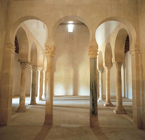San Miguel de Escalada, León. Interior.