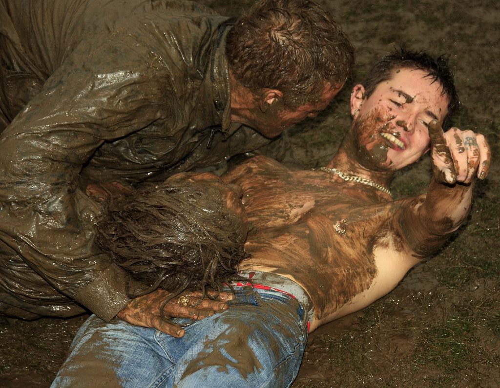 mud bath Lesbian