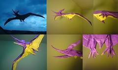pteranodon longiceps (origamiPete) Tags: sculpture art paper model origami dinosaur replica peter pete petr prehistoric paperfolding folding dinosaurus pterosaur pteranodon pterodactylus pterosaurus longiceps stuchly pteranodonlongiceps stuchlý origamipete