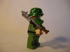 waffen ss (ss-sturmmann) LEGO (MR. Jens) Tags: world two war wiking lego sweden wwii ss hazel ww2 waffen mg34