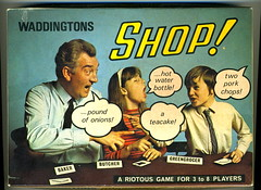Shop ! (Kollage Kid) Tags: game shop 1970 waddingtons