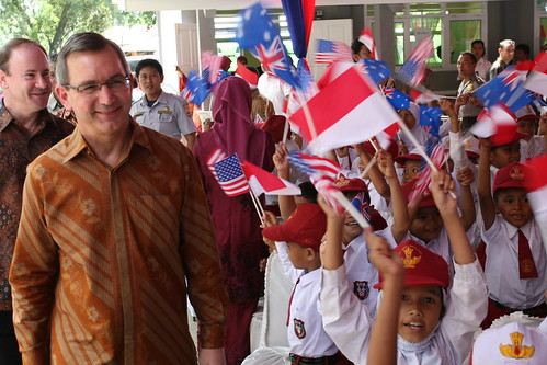 Handover Ceremony of 34 W.Sumatra Schools