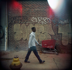 New York (Etienne Despois) Tags: nyc travel newyork square holga travelplanet