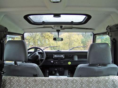 Land Rover Defender 90 Hardtop - Interior