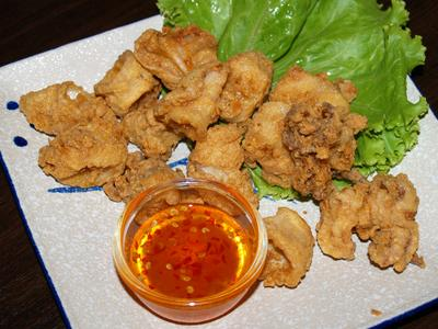 Fried Curry Powder Squid