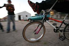 r.u.b.a.r.b. bike tricks (l*ght//m_tion) Tags: kids neworleans stunts rubarb ninthward bicycletricks bikecollective rustedupbeyondallrecognitionbikes