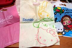 Sanrio Bags (bettybl) Tags: hellokitty sanrio bags pochacco monkichi