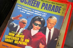 Screen Parade: How Jackie confessed to Ari about Gilpatric (fortinbras) Tags: jackie antiques onassis pentaxist fanmags smc50mm