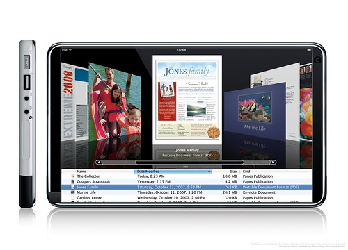 iPad Touch Coverflow