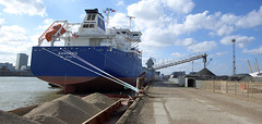 Sandnes (squib_pig) Tags: london water thames ship deep victoria terminal shipping gravel sandnes unloading victoriadeepwaterterminal