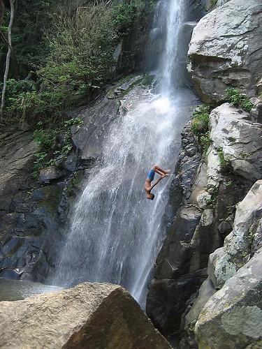 yelapa falls...jump
