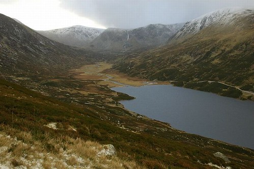 Upper reaches of Loch Callater