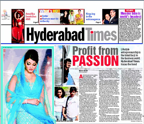 Hyderabad Times December 7 2007