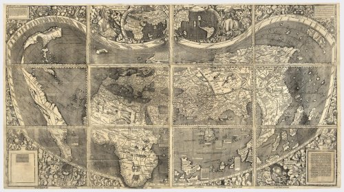 Ancient world through maps varnamvarnam martin waldseemllers map gumiabroncs Choice Image
