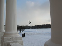 A Walk in the Park (hiddentravel) Tags: winter vacation snow outdoors russia moscow sightseeing kuskovo friendlyplanet lpwinter