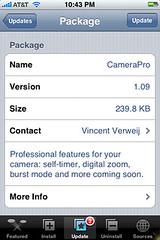 CamerPro Update 1.09