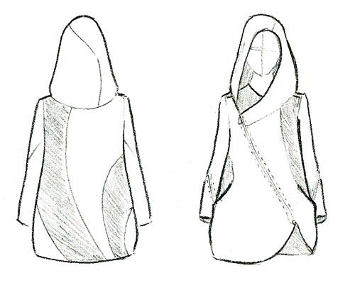 Nadia jacket flat
