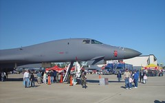 B1 Lancer (blazer8696) Tags: show 2004 nc force aircraft sony air wayne johnson northcarolina cybershot airshow bone seymour base lancer gsb sandysprings b1 goldsboro dscf707 seymourjohnson dsc02456 t2004