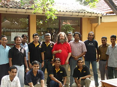 Sahana Team with RMS in SL (mifanc) Tags: richard srilanka rms stallman sahana mifan careem