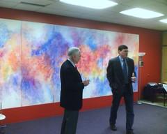 Scott Ritter and Ambassador Ed Peck at UCE