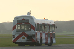Leyland National KJD 520P (ƒliçkrwåy) Tags: bus hampshire national gliding lt airfield leyland londontransport hants lasham leylandnational kjd520p