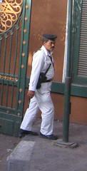 Tourist Cop at Hotel